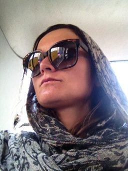 As a women in Iran. // Als Frau im Iran.