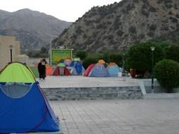 Zeltstadt im Golestan National Park.// Tent City in the Golestan National Park.