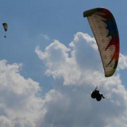Tandemflight - another tandem experience.// Tandemflug, eine andere Tandemerfahrung.