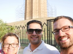 Antonia, Hossein, Daniel.