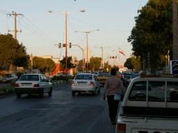 Chaosverkehr im Iran.// Chaotic traffic in Iran.