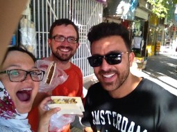 Antonia traditionnal icecream, Daniel, Tohid.