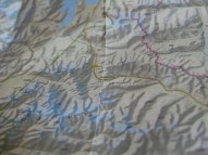 Map of Pamir.// Karte des Pamir.