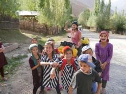 Dushanbe to Kala-i-Khumb. Kids in Kali-i-Husein.