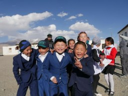 Karakol school kids.