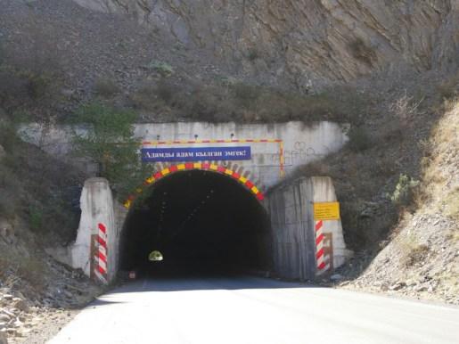 Dark tunnels.