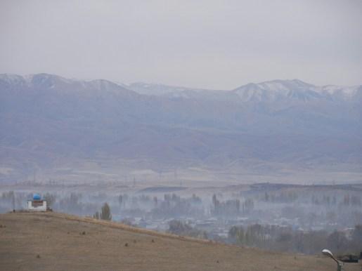 Die Weiten Kasachsthans.// The wideness of Kasakhstan.