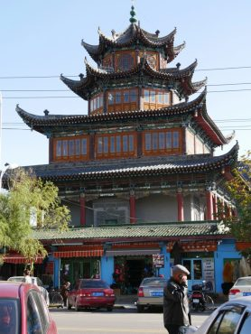 Mosque in Yining.
