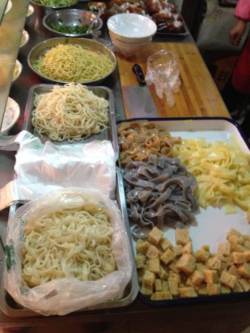 Noodles.// Nudeln.