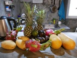 Regional fruit selection.// Regionale Früchtauswahl.