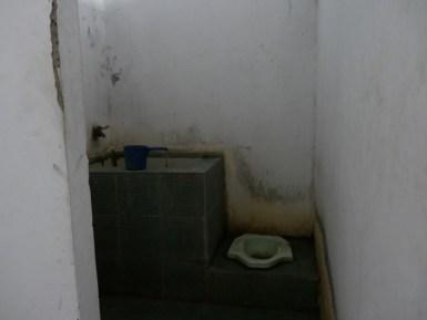 Worst room we ever had.// Der schlimmste Raum, den wir je hatten.