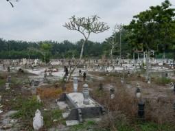 Muslim cementary.// Muslimischer Friedhof.