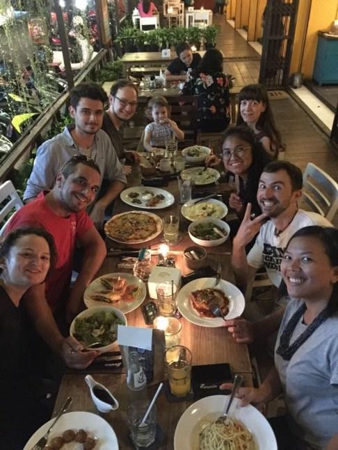 Dinner at Nanamia.