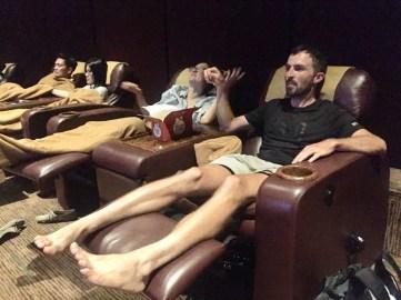 Supercomfy cinema.// Supergemuetliches Kino.