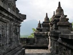Borobudur, der groesste buddhistische Tempel in Suedostasien.// Borobudur, the biggest buddhist temple in southeastasia.