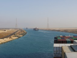 Suez channel.// Suezkanal.