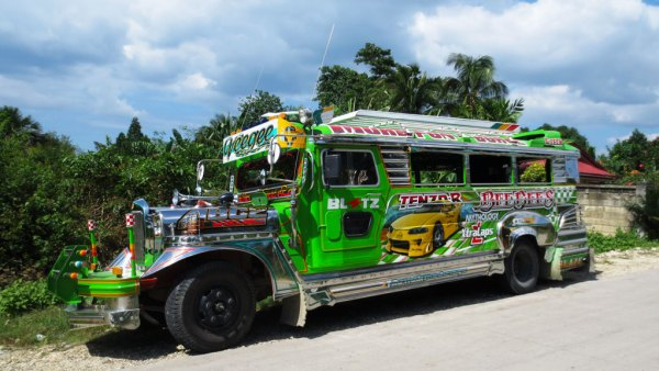 Jeepney-op-de-Filippijnen
