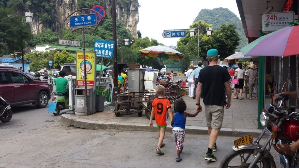 Childrens Day in Yangshuo