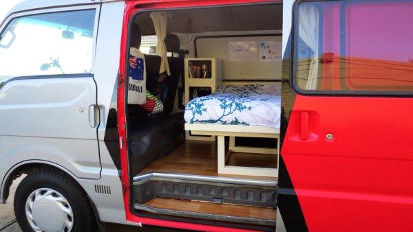 Camper-bed-gereed