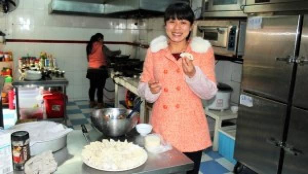 Katy dumplings maken