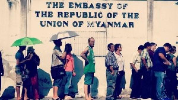 Mark Myanmar Embassy Bangkok