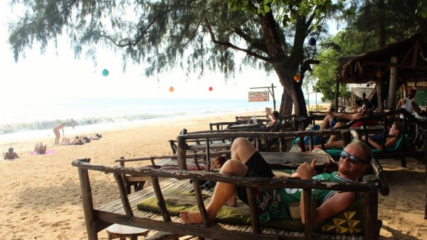 Mark chillen Koh Lanta
