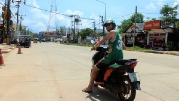 Mark scooter Koh Lanta