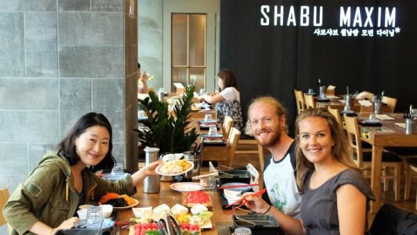 Reizen in Korea met Joy