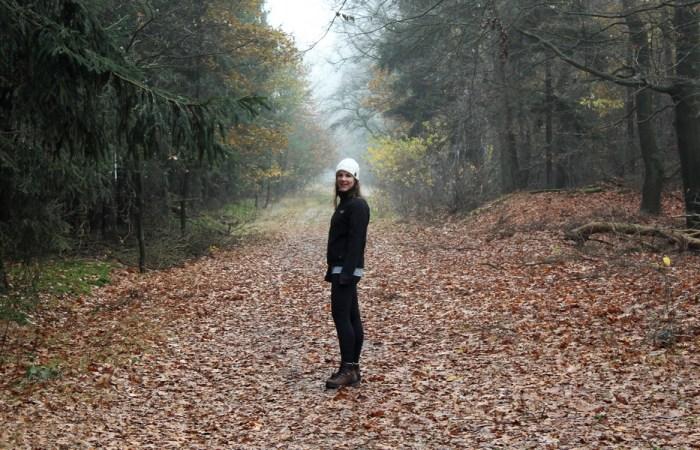 Paula wandelen in Nederland