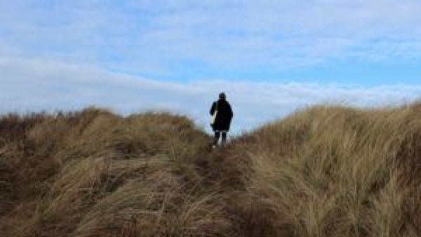 Paula wandelen duinen Vlieland