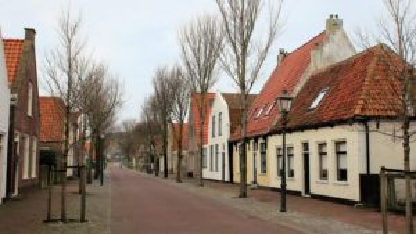 Dorpsstraat Oost-Vlieland