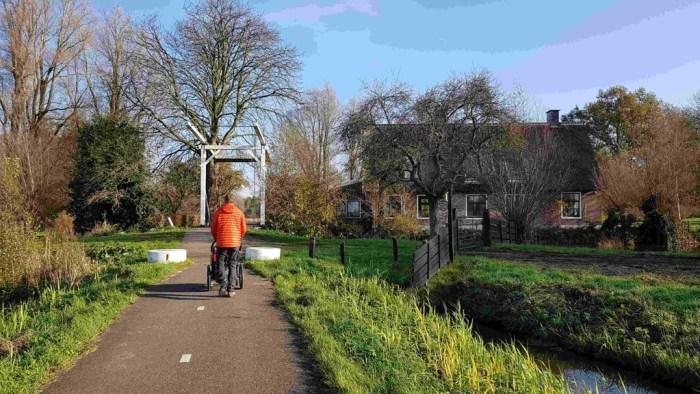 Trekvogelpad etappe 8 Weesp tot Hilversum mooie wegjes