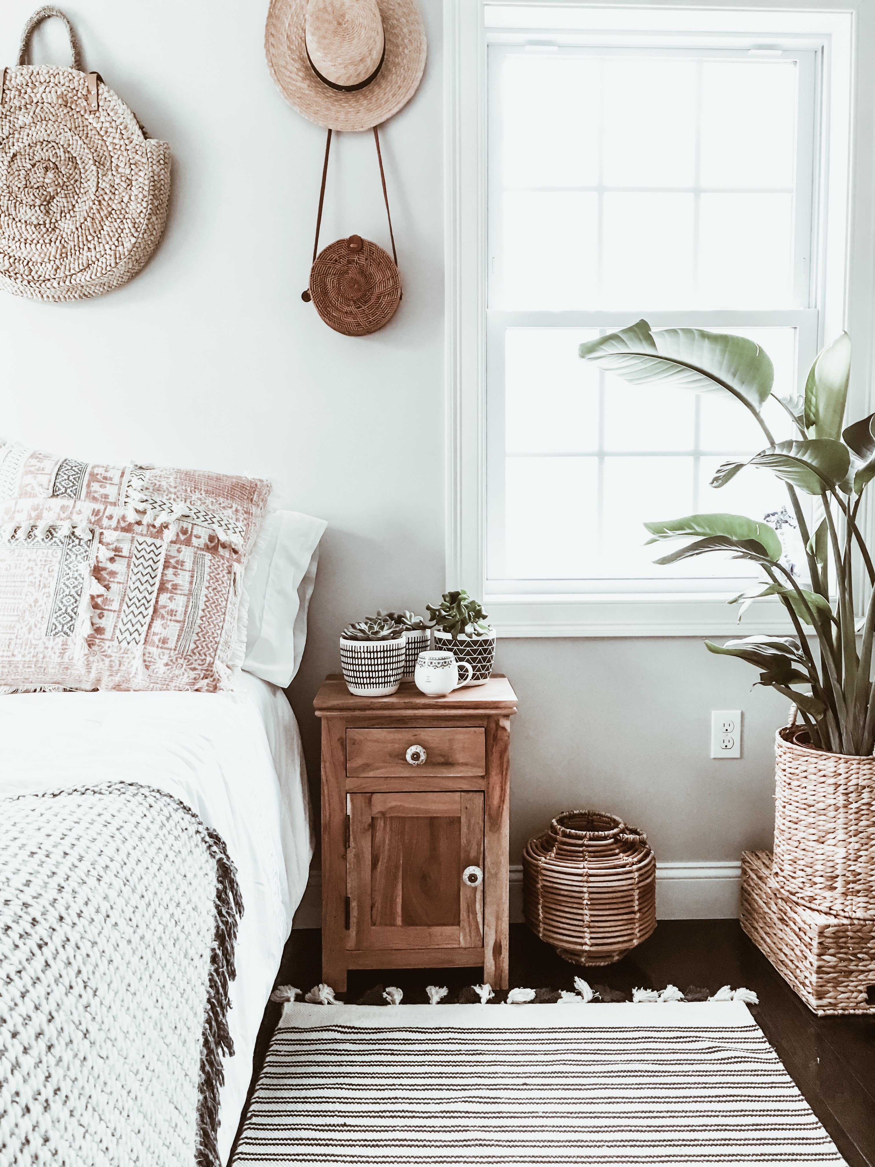 Home Decor Edition Boho Chic Bedroom Makeover Wander X Luxe