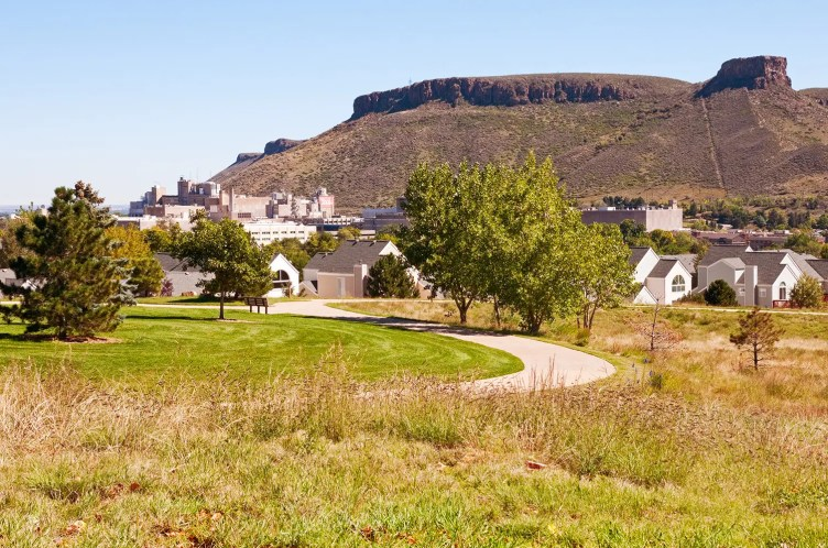 View of South Table Mountain and Coors Brewery