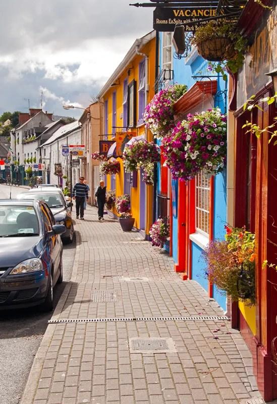 The streets of Kinsale