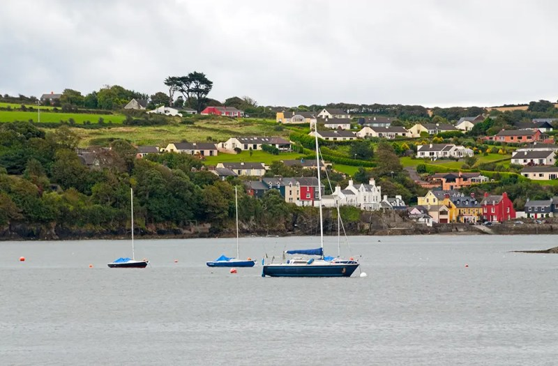 View from Kinsale toward Summercove