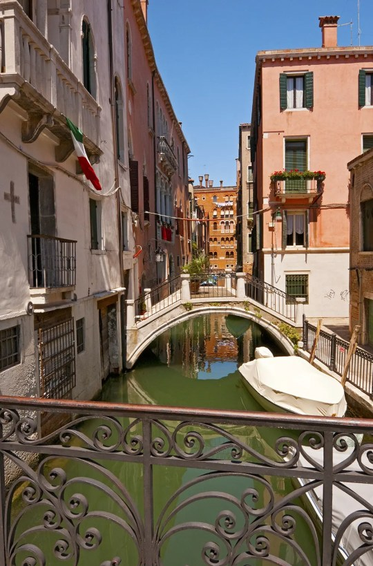 Small canal, Venice, Italy