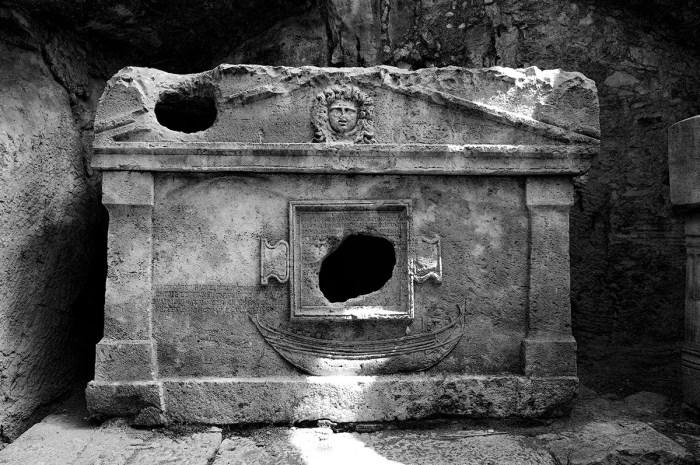 Crypt, Olympos, Turkey