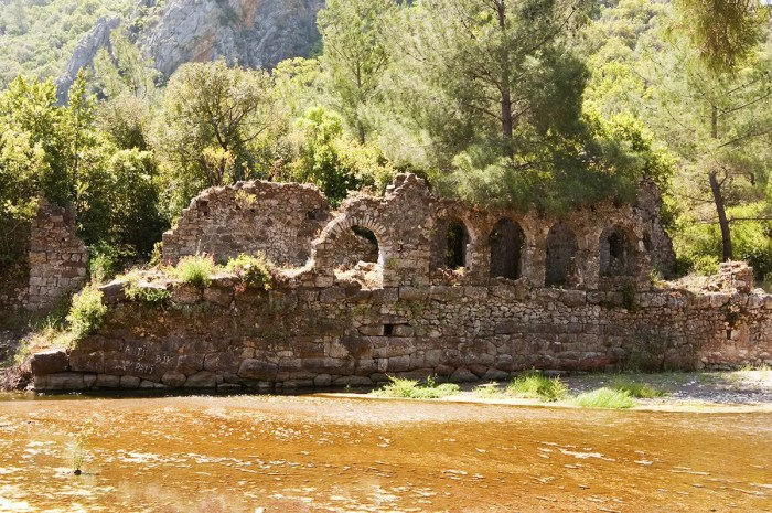 Ruins of Olympos, Turkey