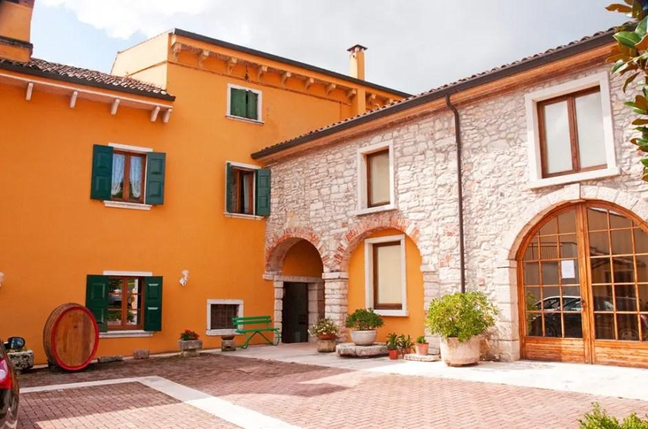 The house at Corte Aleardi