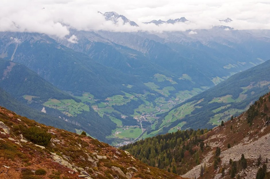 Mountains and the Valle Aurina