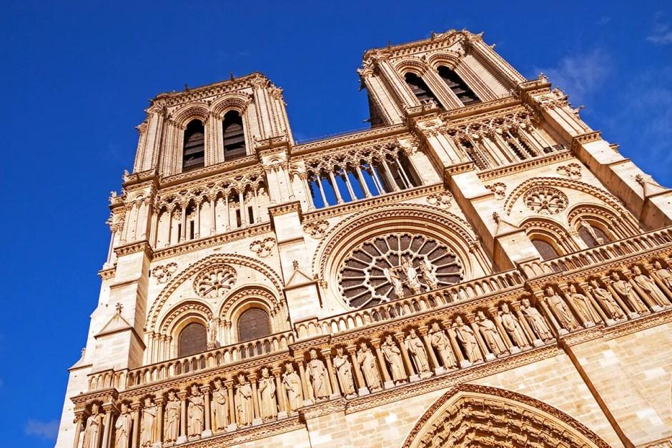 Façade of Notre Dame