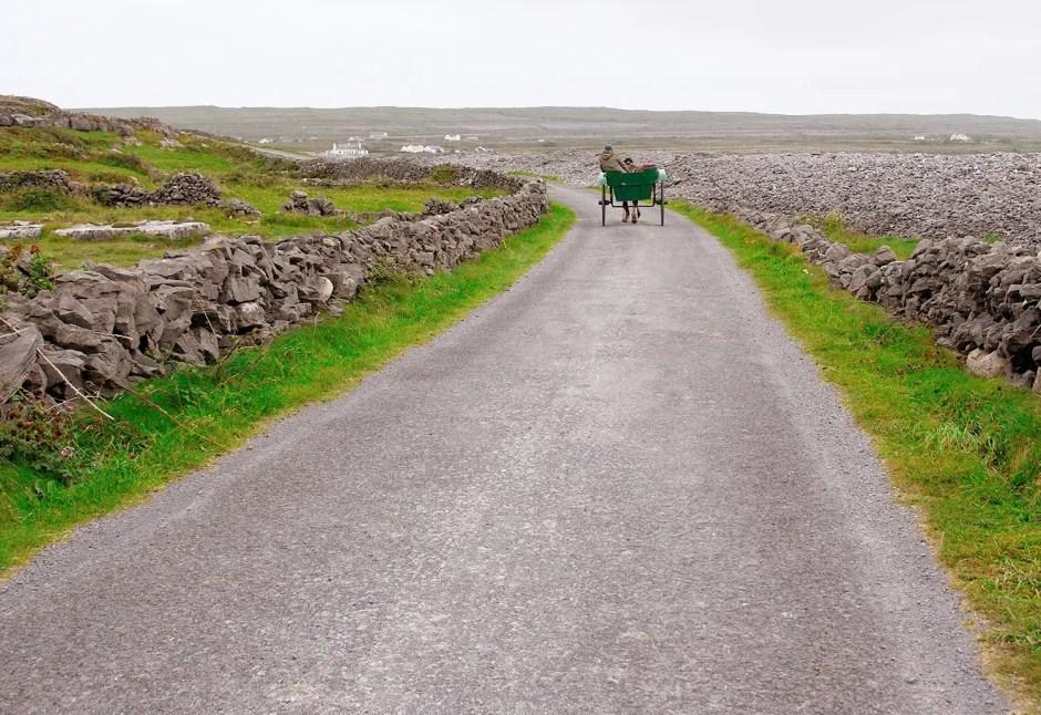Ponytrap, Inishm—ór, Aran Islands, Ireland