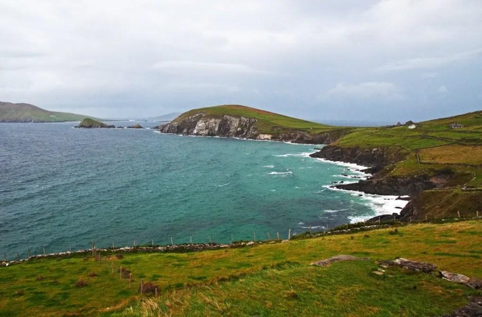 Driving the Dingle Peninsula, County Kerry, Ireland