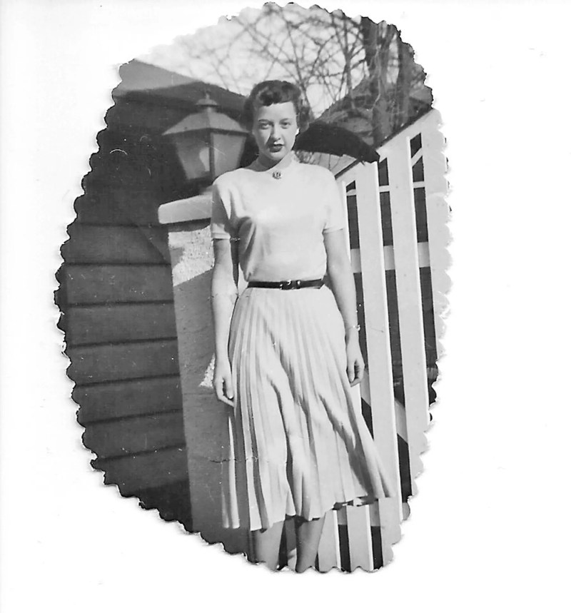 My mom in the early 50's