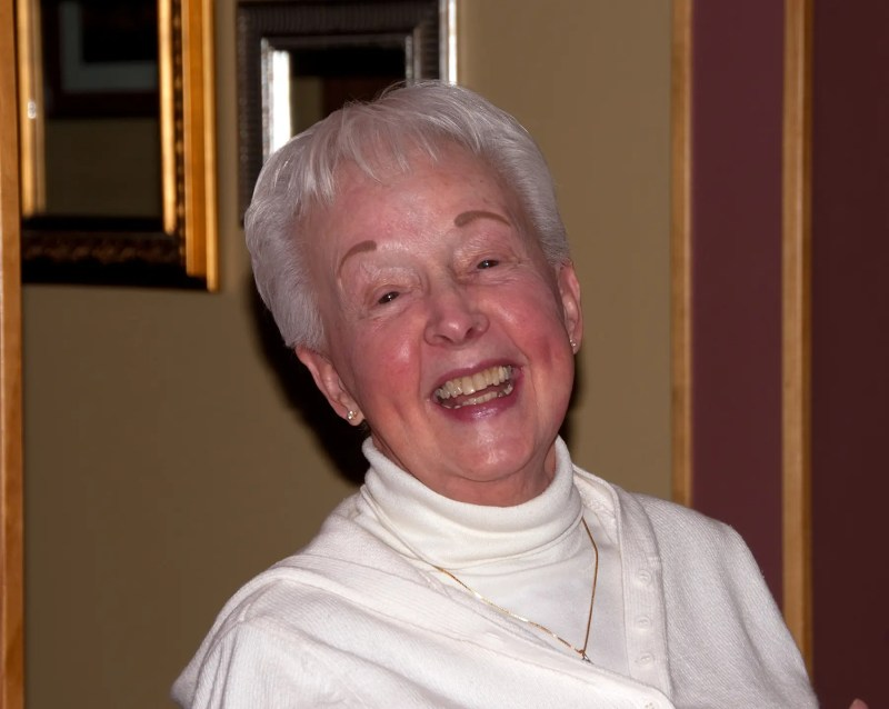 One of my favorite pictures of Mom having a great time with her family - her favorite place to be - Christmas 2009