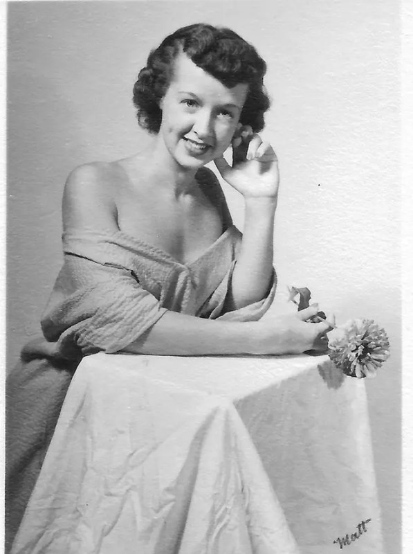 My beautiful mama as a young woman