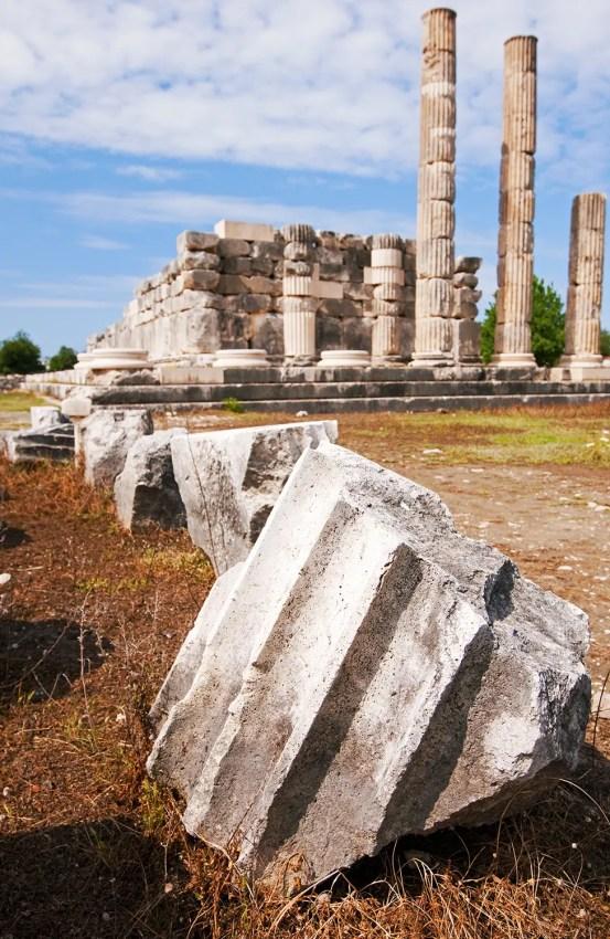 Ruins at Letoošn, near Patara, Turkey