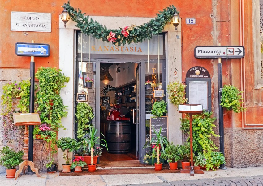 Storefront in Verona, Italy