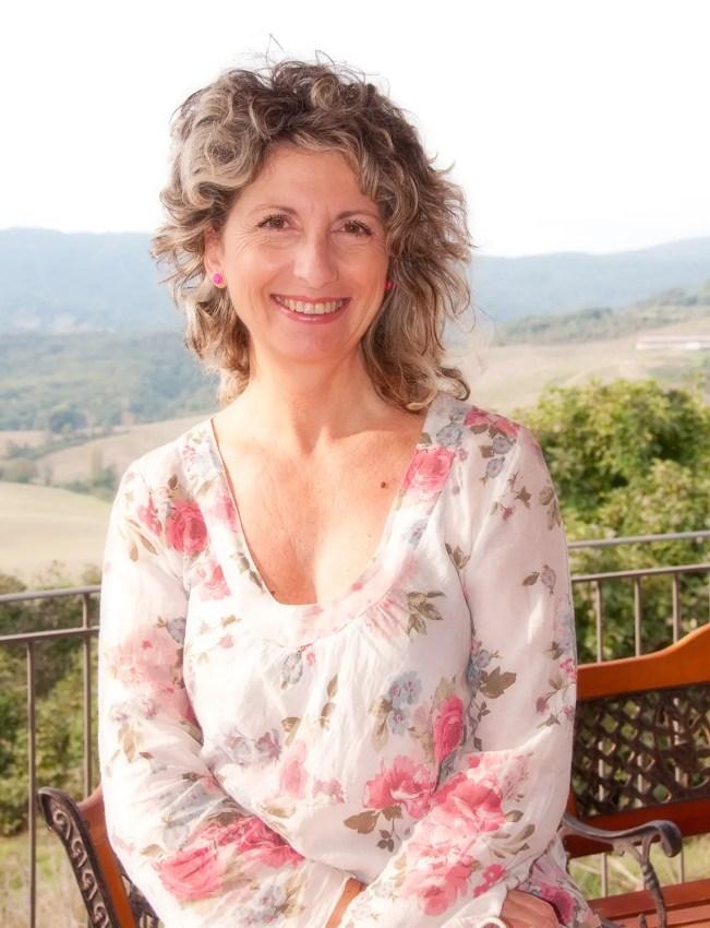 My friend, Gabriella, owner of Antico Borgo di Tignano in Tuscany, Italy